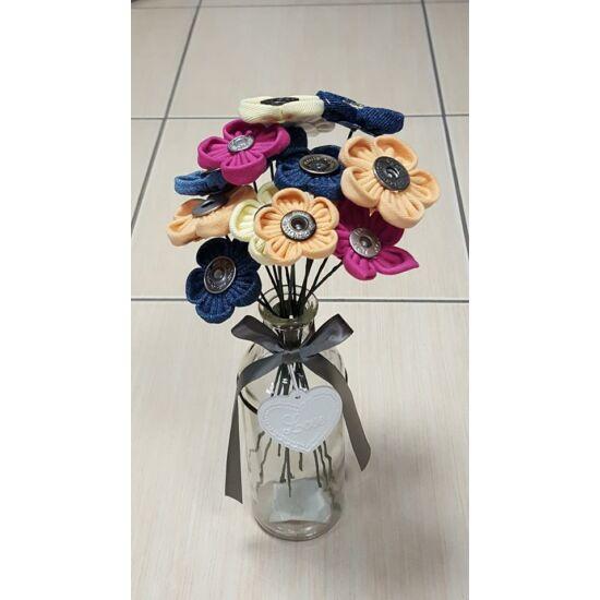 Drótos dekor virág