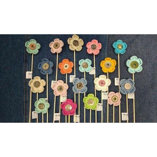 Pálcás dekor virág