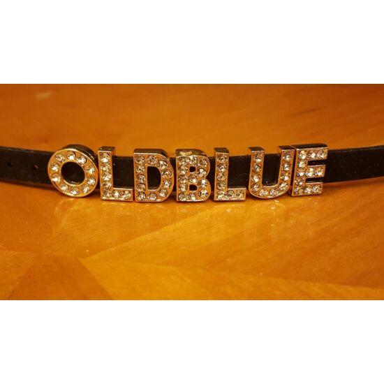 Old Blue feliratos karkötő