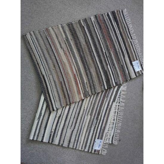 Rongyszőnyeg 70x200 cm barna